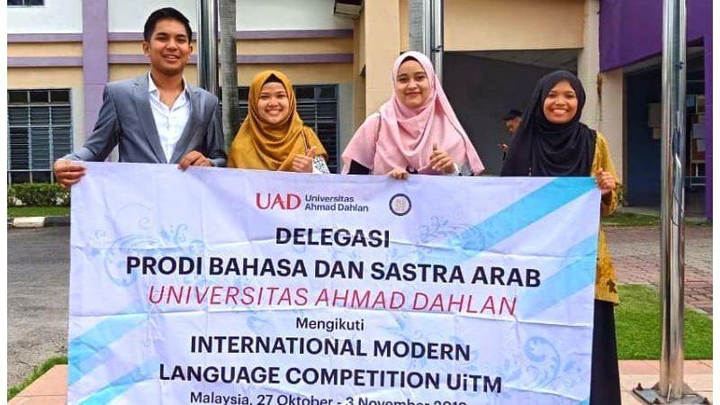 Prodi BSA Juarai Modern Language Olympiad (MLO) di Malaysia