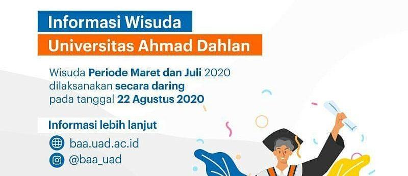 Informasi Wisuda FAI UAD Periode Maret dan Juli 2020
