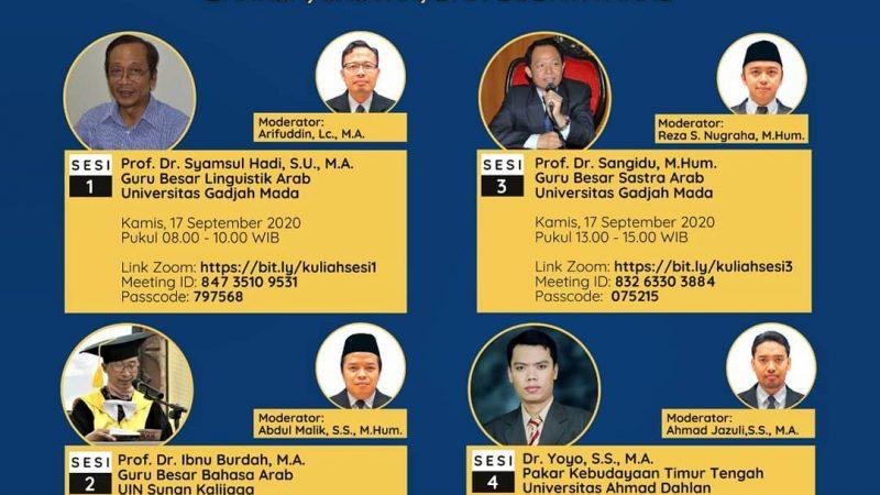 Dosen BSA Sukseskan Kuliah Umum di UNS Sebagai Narsum