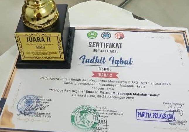 Mahasiswa ILHA Sabet Juara Karya Tulis Ilmiah Nasional