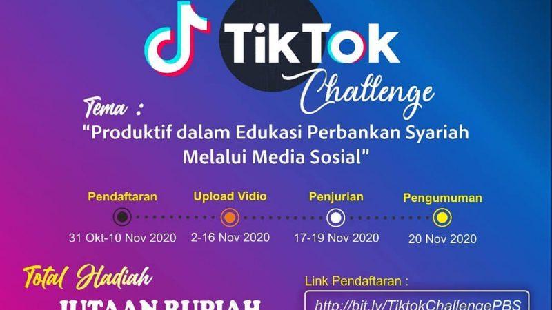 Info Lomba: Prodi Perbankan Syariah FAI Adakan Islamic TikTok Challenge
