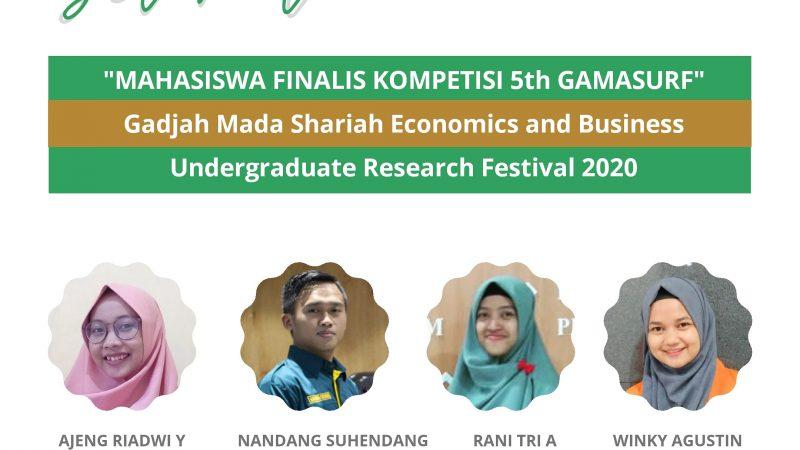 Mahasiswa FAI Jadi Finalis di  GAMASURF 2020