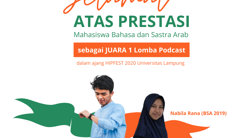 Mahasiswa BSA Juarai Ajang Podcast 2020 di Unila