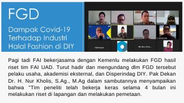 Tim Peneliti FAI UAD Realisasikan Kerjasama dengan Kemenlu RI