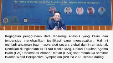 FAI Selenggarakan Seminar Islam Internasional IWOS 2020