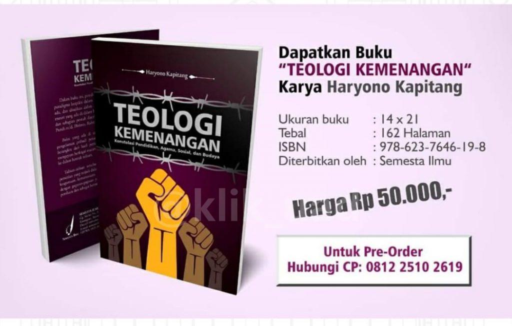 """Mahasiswa PAI Terbitkan Buku """"Teologi Kemenangan"""""""