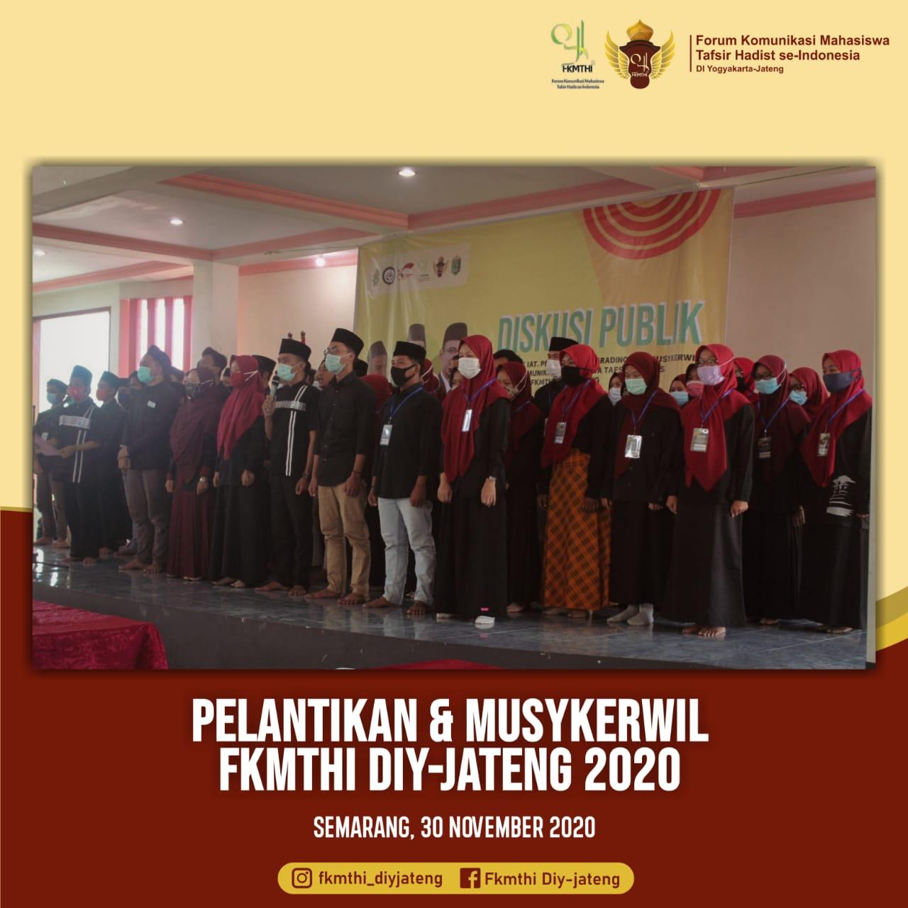 Tiga Mahasiswa Ilmu Hadis Menjadi Delegasi pada Muskerwil FKTHI di Semarang