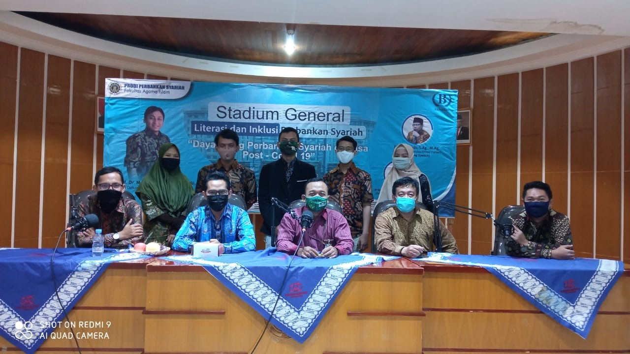 Stadium General PBS UAD: Daya Saing Bank Syariah di Masa Covid-19